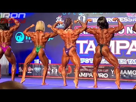 2019 Tampa Pro Top 4 Women's Bodybuilding