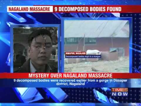 Nagaland massacre: 5 decomposed bodies identified