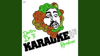 Dentro De Ti (In the Style of Revolver) (Karaoke Version)