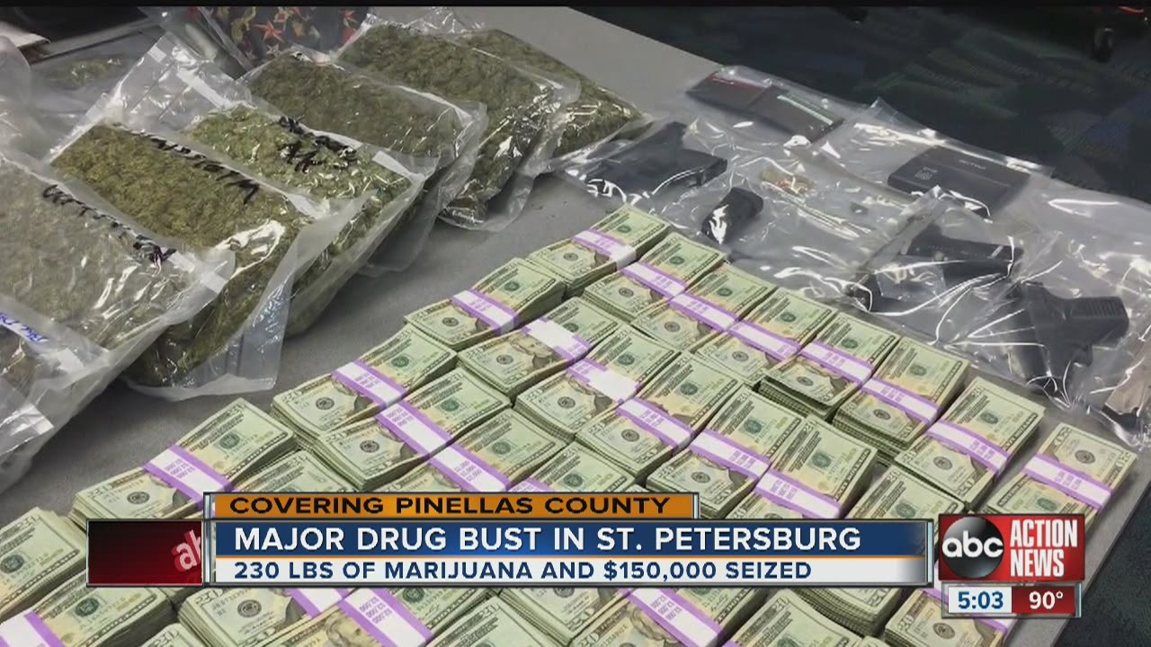 Police Bust Man With 230 Lbs Of Pot