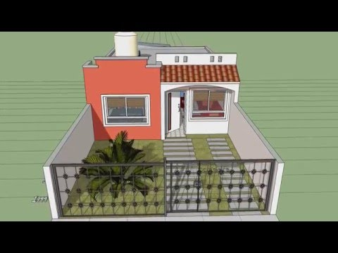 casa de un piso lote 6x15 mts