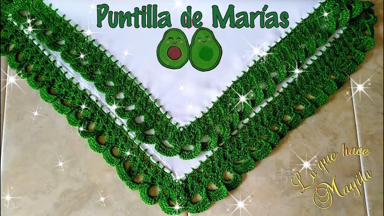 Puntilla de Marías  | Servilleta aguacates