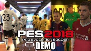 PES 2018 Demo | Thoughts, Opinions & Review!