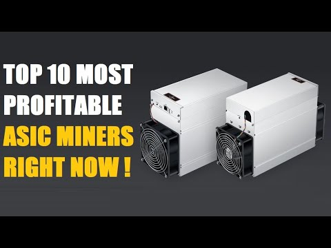 Top 10 Most Profitable Asic Miners At The Moment | Minersdeals