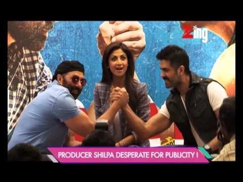 Sunny Deol and Harman Baweja fight it out on the promotion of the film Dishkiyaoon