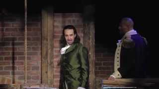 hamilton the musical montage from the public theater
