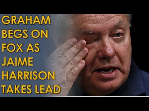 Lindsey Graham BEGS for Money on Fox and Friends as Jaime Harrison takes LEAD in South Carolina Poll
