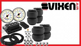 📢 VIXEN AIR VXF4CM0125W Manifold Air Valve Airbags Kit 🔥