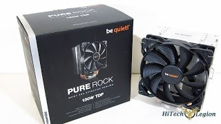 be quiet! Pure Rock CPU Cooler Overview, Installation and Benchmarks