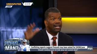 UNDISPUTED - Should Cowboys just let Dak Prescott play out his current deal?