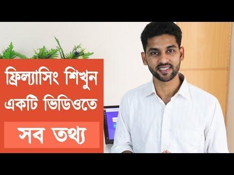 ফ্রিল্যাসিং শিখুন - Everything you need to know about freelancing