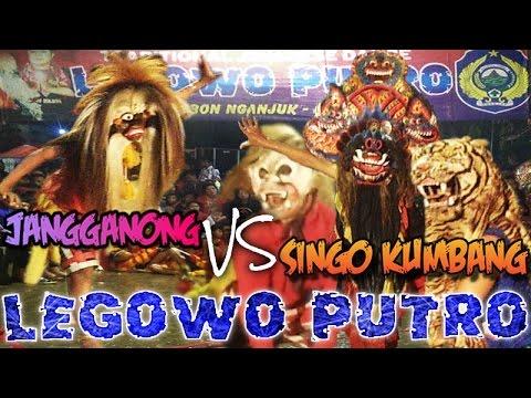 Jaranan Legowo Putro Ganongan Vs Singo Kumbang Live Waung Sonoageng   Traditional Javanese Dance