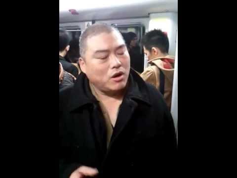 12月29日 胖老师在上海地铁一号线