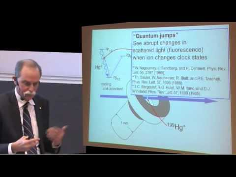 Nobel Laureate in Physics - Dr David J Wineland - Nobel Lecture at Uppsala University