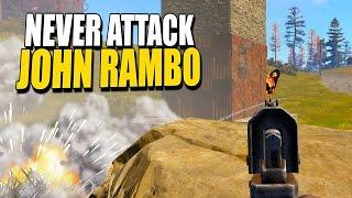 Never Attack John Rambo (Rust Solo Survival) #43