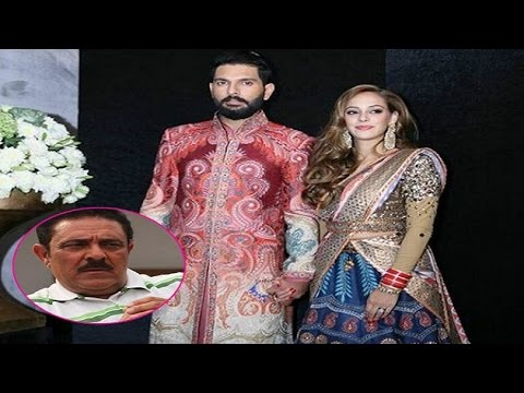 What nonsense? Yuvraj Singh's father reacts to Hazel Keech's name change
