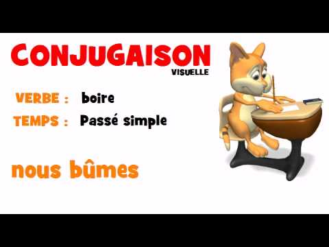 Conjugaison Boire Passe Simple Youtube