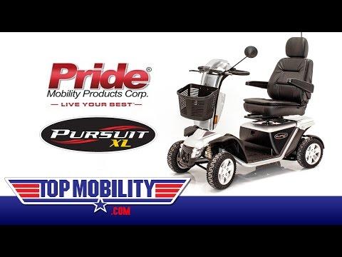 PRIDE Mobility PURSUIT XL PMV Scooter S714 At TopMobility.com