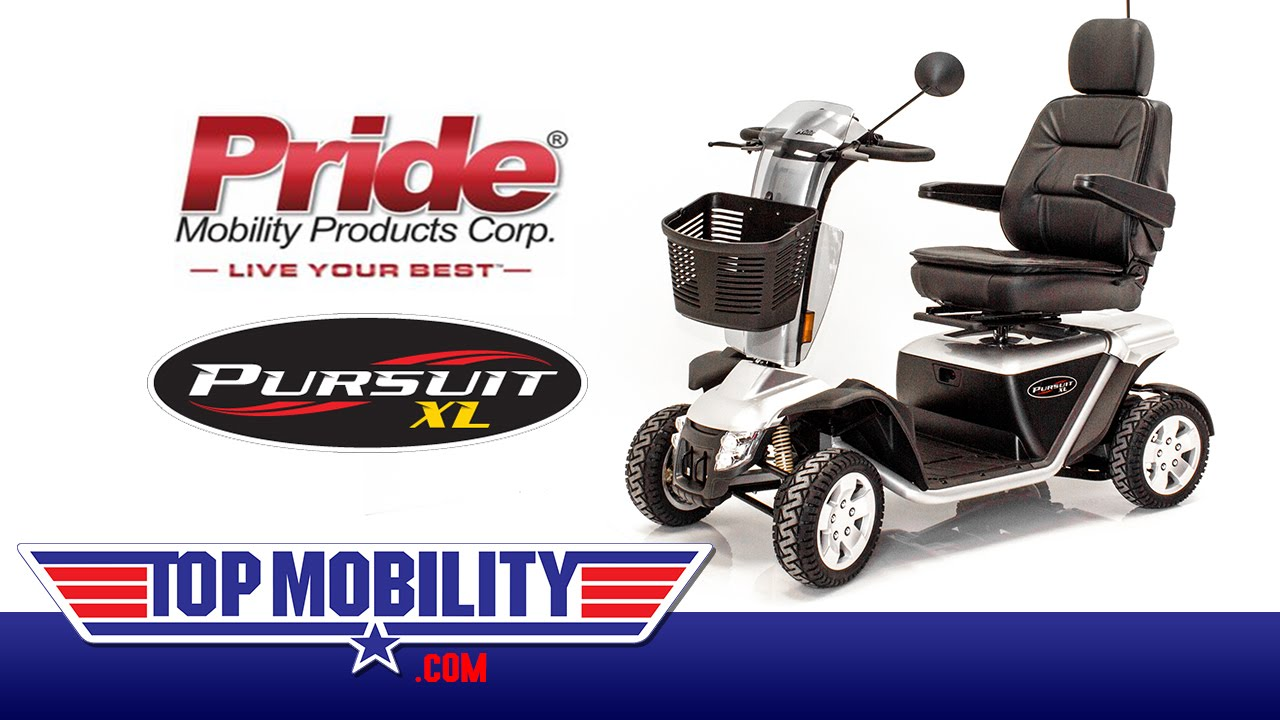 PRIDE Mobility PURSUIT XL PMV Scooter S714 at TopMobility com