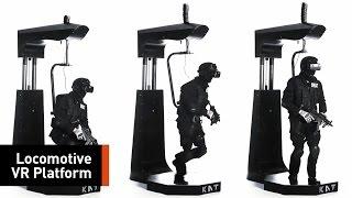 Omni-Directional Virtual Reality Treadmill