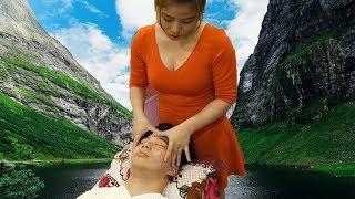 [베트#33]베트남 그녀의 숨막히는 밀착 이발소 서비스(Vietnam Barbershop ASMR)[아로니아TV]