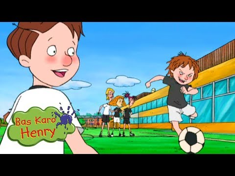 फुटबॉल दोस्त | Bas Karo Henry | बच्चों के लिए कार्टून | Hindi Cartoons