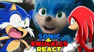 Sonic & Knuckles React To Sonic The Hedgehog (2019) - Official Trailer