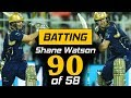 Shane Watson Superb Batting 90 Of 58 In PSL Quetta Gladiators Vs Karachi Kings HBL PSL 2018 mp3