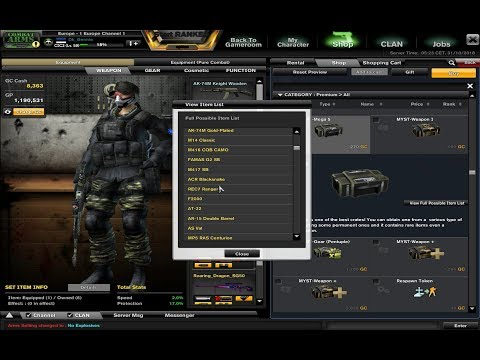 Combat Arms the Classic - GC Spending/Gift