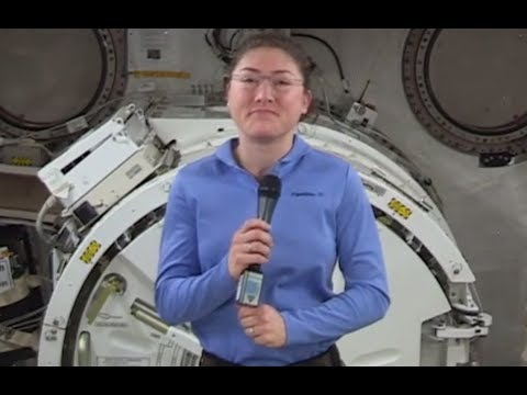 Interview with NASA Space Station Astronauts Christina Koch and Jessica Meir