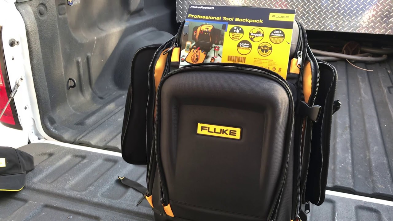 5fd25b45a6f New Fluke Back Pack - YouTube