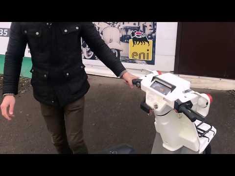 Обзор трехколесного скутера Honda Gyro X из Японии в магазине Акимото
