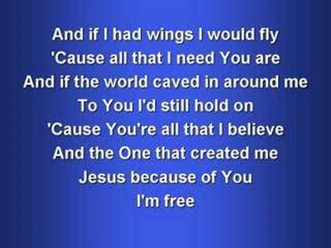 Free (worship video w/ lyrics)