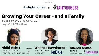 Growing Your Career - and a Family by thelighthouse x FairyGodBoss