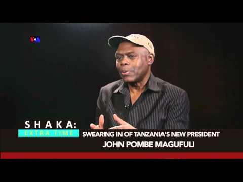 Tanzania's New President John Pombe Magufuli Sworn In
