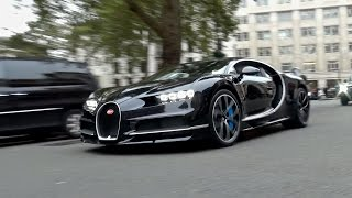 $2.5million Bugatti Chiron CAUSES CHAOS on the Streets of London!