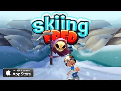 Skiing Fred - iOS Trailer