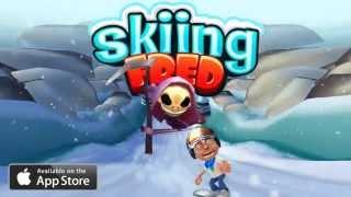 Skiing Fred - iOS Trailer