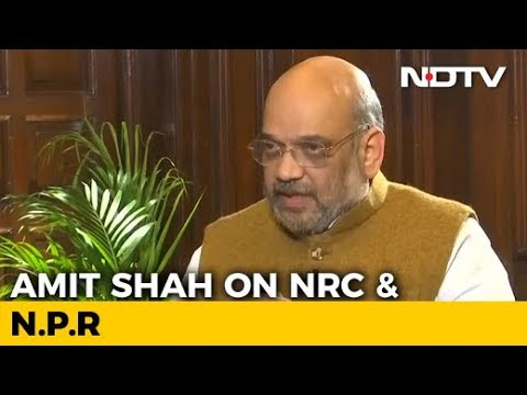 """No Link Between NRC And National Population Register"", Says Amit Shah"
