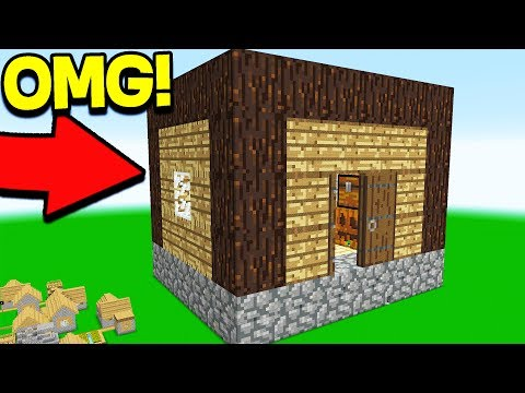 Thumbnail: WORLD'S BIGGEST MINECRAFT HOUSE.. (WORLD RECORD)