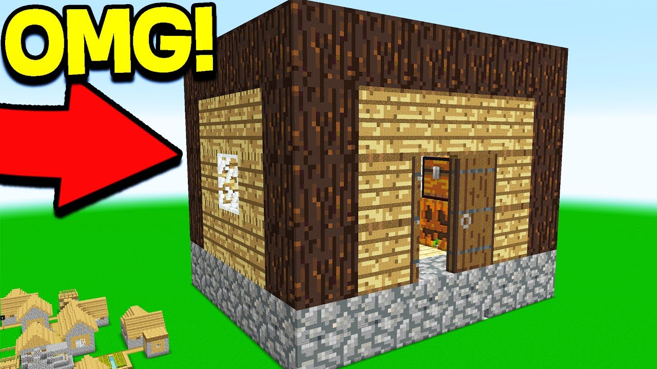 Smallest House In The World 2017 Inside world's biggest minecraft house.. (world record) - youtube