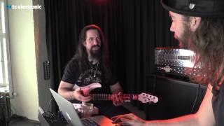 "John Petrucci uses his ""Mountain Top"" TonePrint for the Flashback Delay"