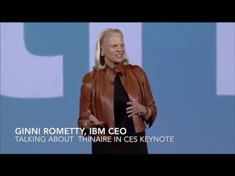 IBM CEO on Thinaire