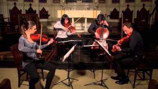 Attacca Quartet plays Fanny Mendelssohn String Quartet -- Third Movement