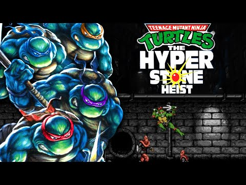 Turtles in Time (SNES) vs The Hyperstone Heist (Sega Genesis) James and Mike Mondays