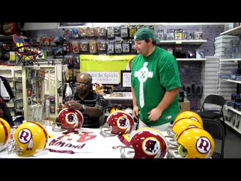 Larry Brown Autograph Event - NFL MVP 1972 with the Washington Redskins