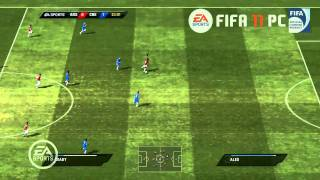 FIFA 11 PC Gameplay (Part 1) - www.fifabenelux.com