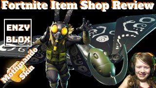 NEW MOTHMANDO SKIN Fortnite item shop review May 6th 2019 | Fortnite Season 8