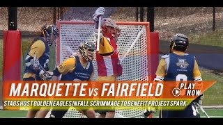 Marquette vs Fairfield | 2015 College Fall Lacrosse