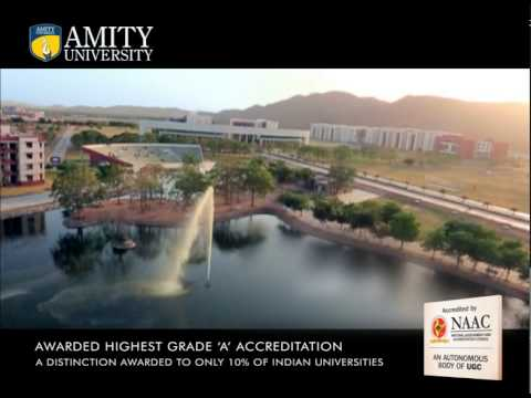 Amity University Noida Campus Promotional Video - QS in conversation